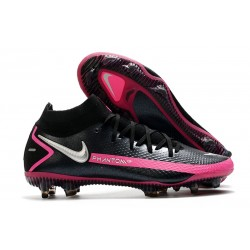 Nike Performance PHANTOM GT ELITE DF FG -Noir Argent Rose