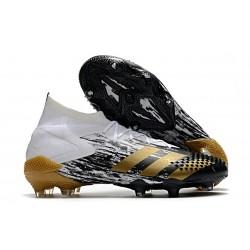 adidas Predator Mutator 20.1 FG Crampon Homme - Blanc Or Noir