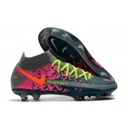 Nike Performance PHANTOM GT ELITE DF FG - Gris Bleu Rose