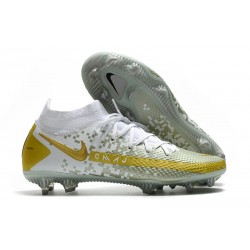 Nike Performance PHANTOM GT ELITE DF FG - Blanc Or