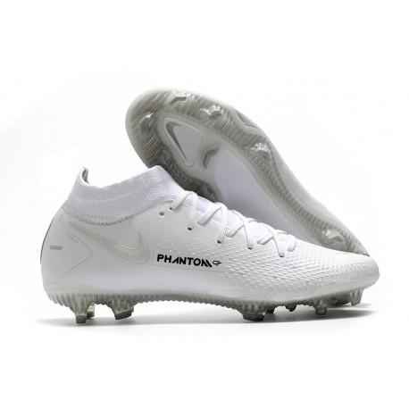 Nike Phantom GT Elite DF FG Crampon Blanc