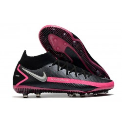 Nike Phantom GT Elite Dynamic Fit AG-PRO Noir Argent Rose