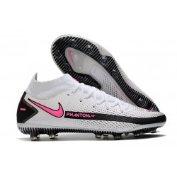 Nike Phantom GT Elite Dynamic Fit AG-PRO Blanc Rose Noir