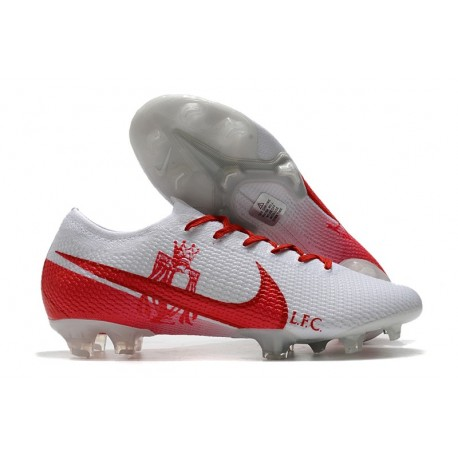 Nike Mercurial Vapor 13 Elite FG ACC - LFC Blanc Rouge