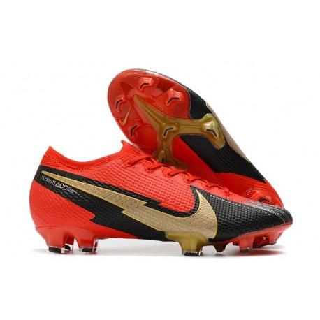 Nike Mercurial Vapor 13 Elite FG ACC - Rouge Noir Or