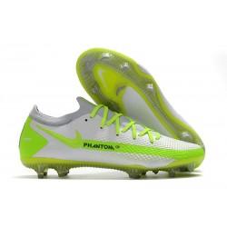 Nike Crampons Football Phantom GT Elite FG Blanc Vert