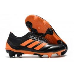 Nouvelles Crampons de Foot - Adidas Copa 19.1 FG Noir Orange