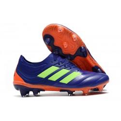 Nouvelles Crampons de Foot - Adidas Copa 19.1 FG Violet Vert