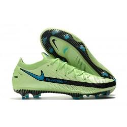Nike Crampons Football Phantom GT Elite FG Impulse - Vert Bleu