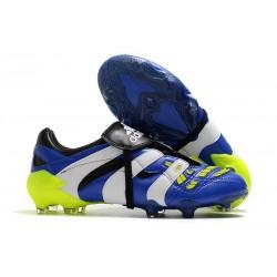 Nouvelles - Crampons Adidas Predator Accelerator FG Bleu Blanc Jaune