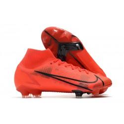 Nike Mercurial Superfly 8 Elite FG Rouge Noir