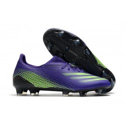 adidas X Ghosted.1 FG Crampons Violet Vert
