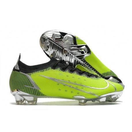 Chaussure Nike Mercurial Vapor XIV Elite FG Vert Argent