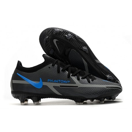 Crampons Foot Nike Phantom GT2 Elite FG Renew - Noir Gris Acier