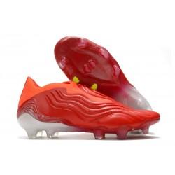 adidas Copa Sense+ FG Crampons Meteorite - Rouge Blanc Rouge