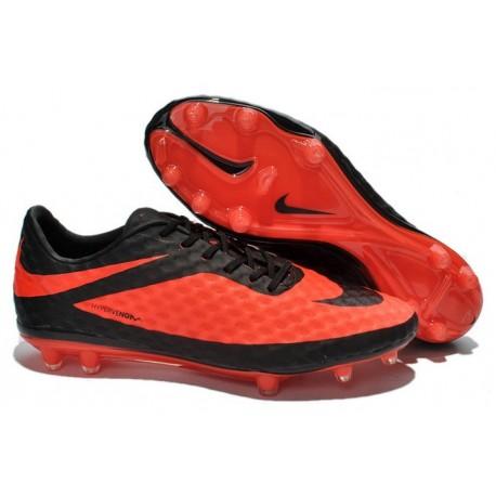 Crampon de Foot Nike Hypervenom Phantom Neymar FG Rouge Noir
