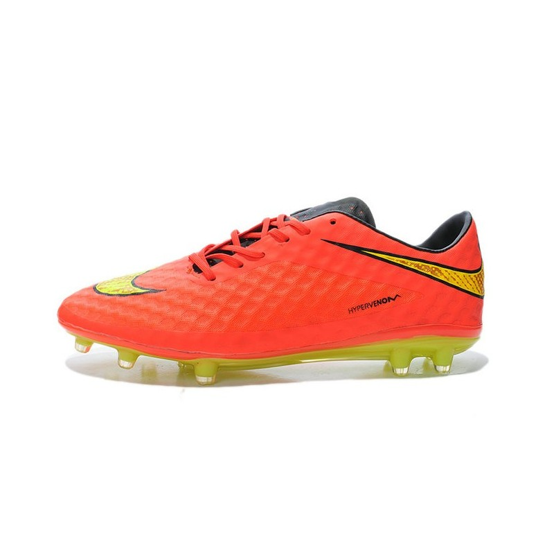 2015 chaussure de football nike hypervenom phantom fg pas cher orange jaune. Black Bedroom Furniture Sets. Home Design Ideas