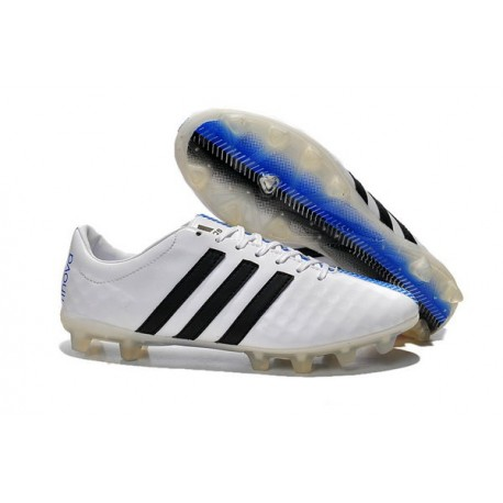 2015 chaussures de football adidas 11pro fg pas cher blanc noir bleu. Black Bedroom Furniture Sets. Home Design Ideas