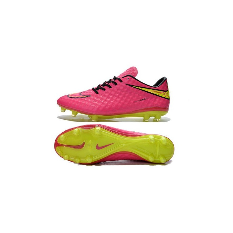2015 chaussure de football nike hypervenom phantom fg pas cher rose blanc noir. Black Bedroom Furniture Sets. Home Design Ideas
