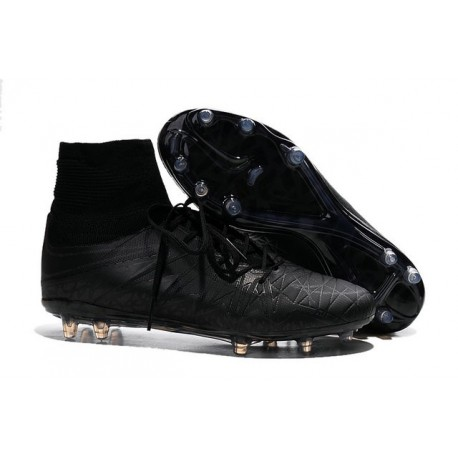 Nike HyperVenom Phantom II FG Football bottes pour hommes Réfléchissant Noir