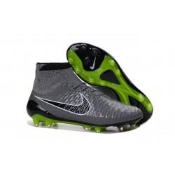 Coupe du Monde 2015 Crampons Nike Magista Obra FG Gris Noir Vert