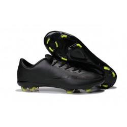 2015 Nouveau Crampons Nike Mercurial Vapor X ACC FG Noir Volt