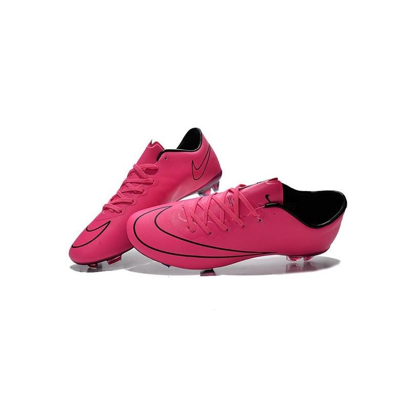 Chaussure De Foot Nike Rose Et Bleu