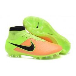 Nouveau Chaussures de Football Nike Magista Obra FG Beige Noir Volt