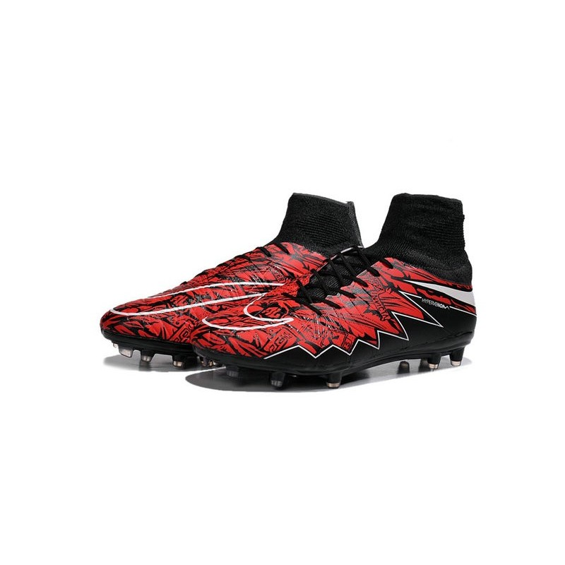 nike hypervenom phantom 2 fg chaussures de football lewandowski blanc rouge noir. Black Bedroom Furniture Sets. Home Design Ideas