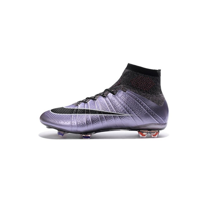 chaussure de foot nike mercurial violet