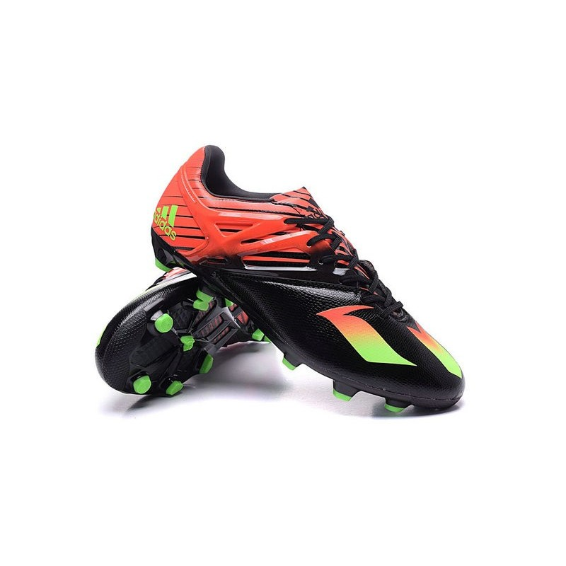 the best attitude c4513 290f2 release date adidas 15.3 messi exclusive fg soccer boots noir rouge vert  1d3c8 44ebe