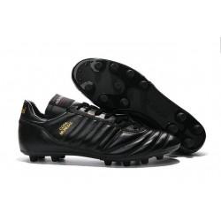 Nouveau Crampons de Foot Adidas Copa Mundial FG Hommes Noir Or