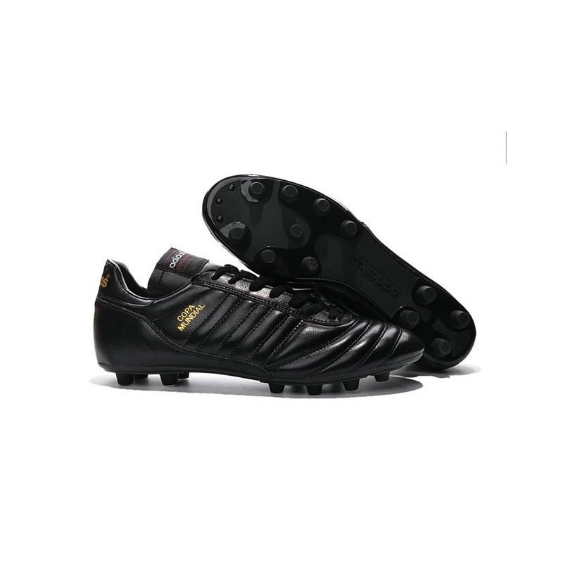 nouveau crampons de foot adidas copa mundial fg hommes noir or. Black Bedroom Furniture Sets. Home Design Ideas