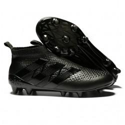 Adidas Ace16+ Purecontrol FG/AG Chaussures de Football Pour Homme tout Noir