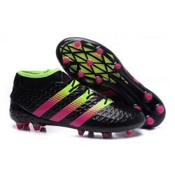 Nouvelles - Chaussures adidas ACE 16.1 Primeknit FG/AG Noir Rose Volt