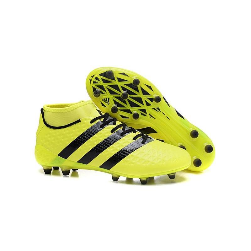 chaussures adidas jaune fluo