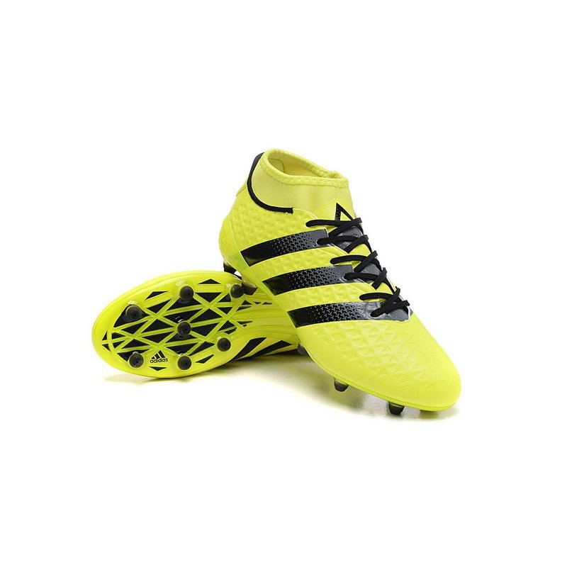 adidas ace primeknit yellow