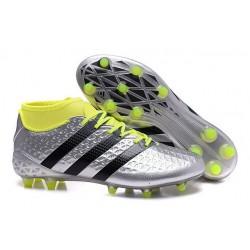 Nouvelles - Chaussures adidas ACE 16.1 Primeknit FG/AG Noir Argenté Volt