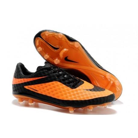 Chaussure de Football Nike Hypervenom Phantom FG ACC Noir Citrus