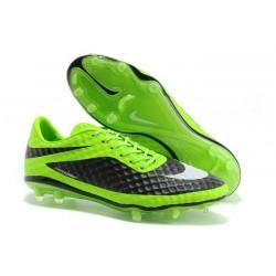 Nouveau Hommes Chaussures Nike Hypervenom Phantom FG Vert Noir Blanc