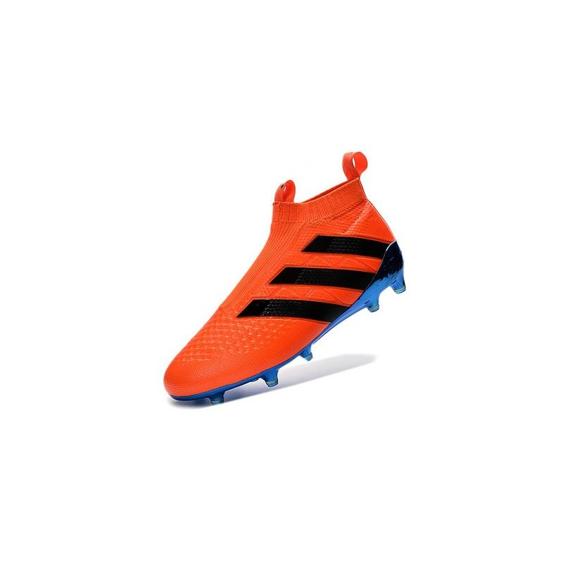 uk availability b0f13 1ad0c ... amazon adidas ace16 purecontrol fg ag chaussures de football pour homme  bleu orange noir c955b 11167