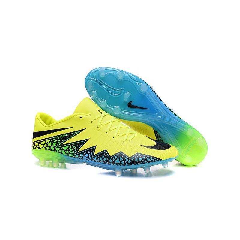 nike dunk pomme verte - Crampon de Foot Nike Hypervenom Phinish Neymar FG Volt Noir Hyper ...