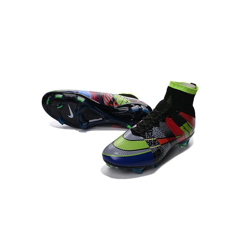 2016 nouvelle chaussure nike mercurial superfly iv fg noir vert rouge bleu what the mercurial. Black Bedroom Furniture Sets. Home Design Ideas