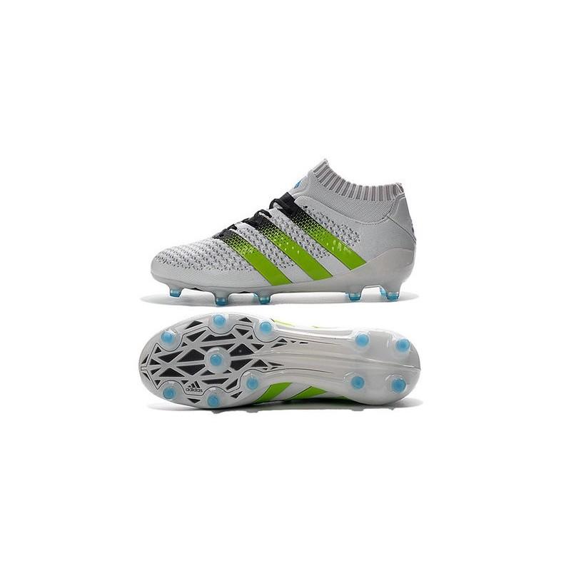 the best attitude 87dc5 0e488 Nouvelles - Chaussures adidas ACE 16.1 Primeknit FGAG Blanc