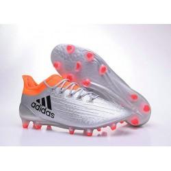 2016 Chaussures de football Adidas X 16.1 AG/FG Argent Noir Rouge