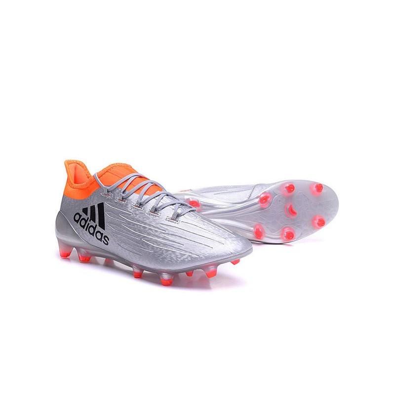 online store ea6f6 8f2ff chaussures de football adidas x 161 agfg argent noir rouge chaussure  football adidas ace 16 1 primeknit