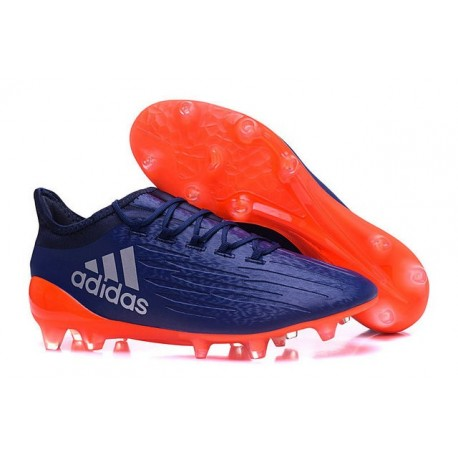 2016 Chaussures de football Adidas X 16.1 AG/FG Violet Orange