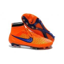 2014/2015 Nouvelle Hommes Nike Magista Obra FG Orange Violet