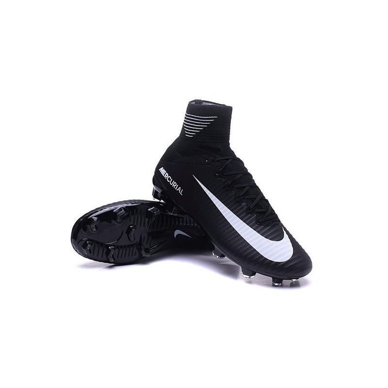 Nike Noir Pour Homme Superfly Fg Mercurial 5 Nouvelles Blanc Chaussure erCxdBWQo