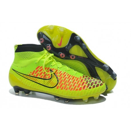 coupe du monde 2014 crampons nike magista obra fg jaune. Black Bedroom Furniture Sets. Home Design Ideas